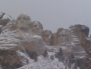 Mt. Rushmore, our Presidents