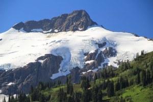 Upper Napeequa Valley showing glaciers