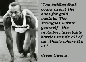 Jesse Owens - The Battles Within